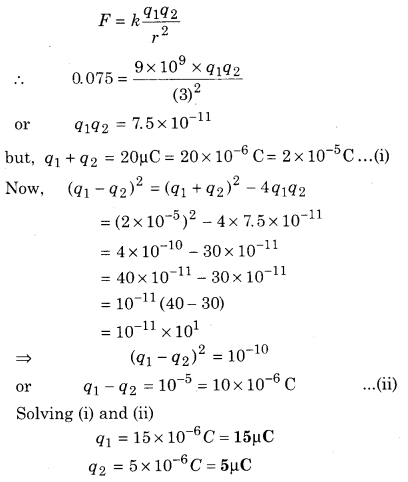RBSE Solutions for Class 12 Physics Chapter 1 Electric Field 52