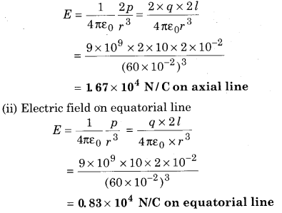 RBSE Solutions for Class 12 Physics Chapter 1 Electric Field 53
