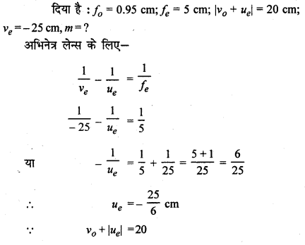 RBSE Solutions for Class 12 Physics Chapter 11 किरण प्रकाशिकी Numeric Q 8