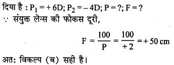 RBSE Solutions for Class 12 Physics Chapter 11 किरण प्रकाशिकी multiple Q 6