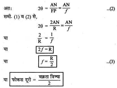 RBSE Solutions for Class 12 Physics Chapter 11 किरण प्रकाशिकी short Q 3.5