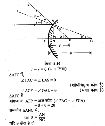 RBSE Solutions for Class 12 Physics Chapter 11 किरण प्रकाशिकी short Q 3