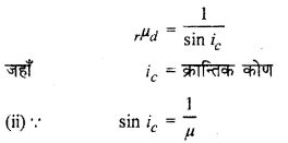 RBSE Solutions for Class 12 Physics Chapter 11 किरण प्रकाशिकी shot Q 5