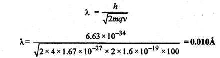 RBSE Solutions for Class 12 Physics Chapter 13 प्रकाश विद्युत प्रभाव एवं द्रव्य तरंगें Numeric Q 4.1