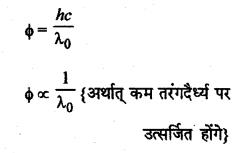 RBSE Solutions for Class 12 Physics Chapter 13 प्रकाश विद्युत प्रभाव एवं द्रव्य तरंगें multiple 4.1