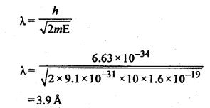 RBSE Solutions for Class 12 Physics Chapter 13 प्रकाश विद्युत प्रभाव एवं द्रव्य तरंगें multiple 9