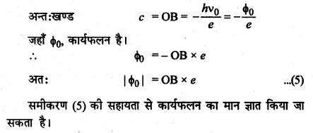 RBSE Solutions for Class 12 Physics Chapter 13 प्रकाश विद्युत प्रभाव एवं द्रव्य तरंगें very short Q 11