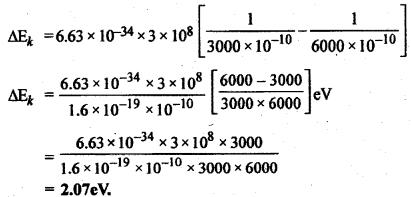 RBSE Solutions for Class 12 Physics Chapter 13 प्रकाश विद्युत प्रभाव एवं द्रव्य तरंगें very short Q 7