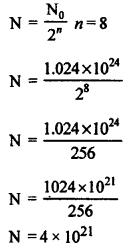 RBSE Solutions for Class 12 Physics Chapter 15 नाभिकीय भौतिकी mul Q 3