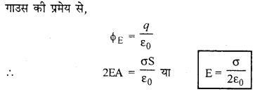 RBSE Solutions for Class 12 Physics Chapter 2 गाउस का नियम एवं उसके अनुप्रयोग 44