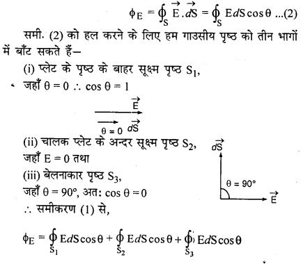 RBSE Solutions for Class 12 Physics Chapter 2 गाउस का नियम एवं उसके अनुप्रयोग 47