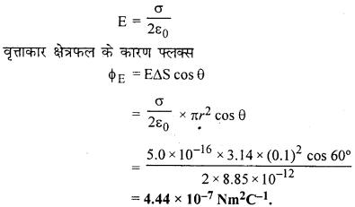 RBSE Solutions for Class 12 Physics Chapter 2 गाउस का नियम एवं उसके अनुप्रयोग 60