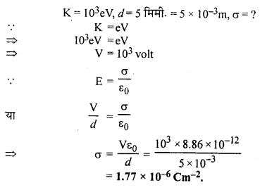RBSE Solutions for Class 12 Physics Chapter 2 गाउस का नियम एवं उसके अनुप्रयोग 61