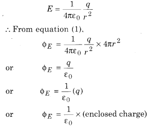RBSE Solutions for Class 12 Physics Chapter 2 Gauss's Law and its Applications 34