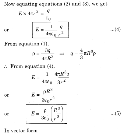 RBSE Solutions for Class 12 Physics Chapter 2 Gauss's Law and its Applications 41