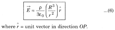 RBSE Solutions for Class 12 Physics Chapter 2 Gauss's Law and its Applications 42