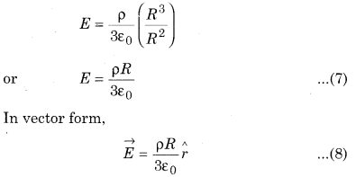 RBSE Solutions for Class 12 Physics Chapter 2 Gauss's Law and its Applications 43