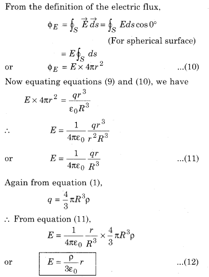 RBSE Solutions for Class 12 Physics Chapter 2 Gauss's Law and its Applications 45