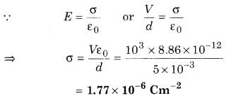 RBSE Solutions for Class 12 Physics Chapter 2 Gauss's Law and its Applications 72
