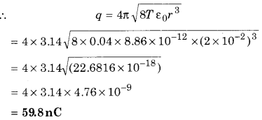 RBSE Solutions for Class 12 Physics Chapter 2 Gauss's Law and its Applications 73
