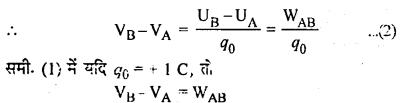 RBSE Solutions for Class 12 Physics Chapter 3 विद्युत विभव 53