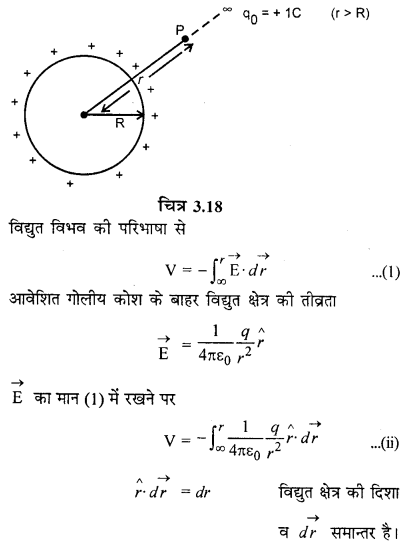 RBSE Solutions for Class 12 Physics Chapter 3 विद्युत विभव 61