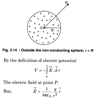 RBSE Solutions for Class 12 Physics Chapter 3 Electric Potential 47