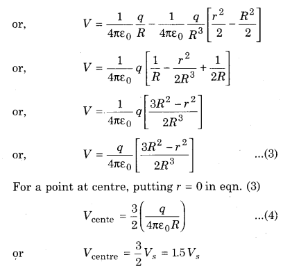 RBSE Solutions for Class 12 Physics Chapter 3 Electric Potential 50