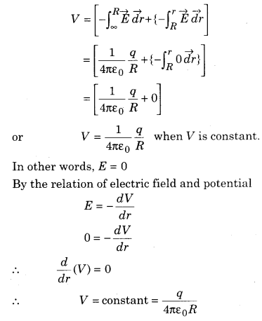 RBSE Solutions for Class 12 Physics Chapter 3 Electric Potential 62