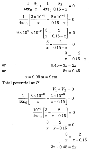 RBSE Solutions for Class 12 Physics Chapter 3 Electric Potential 66
