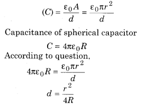 RBSE Solutions for Class 12 Physics Chapter 4 Electrical Capacitance 22