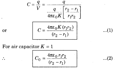RBSE Solutions for Class 12 Physics Chapter 4 Electrical Capacitance 28