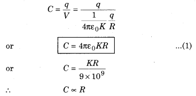 RBSE Solutions for Class 12 Physics Chapter 4 Electrical Capacitance 54