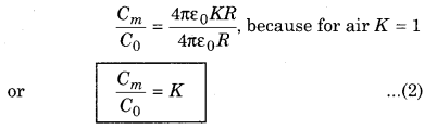 RBSE Solutions for Class 12 Physics Chapter 4 Electrical Capacitance 55