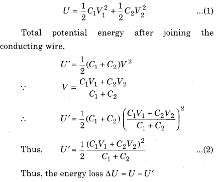 RBSE Solutions for Class 12 Physics Chapter 4 Electrical Capacitance 60