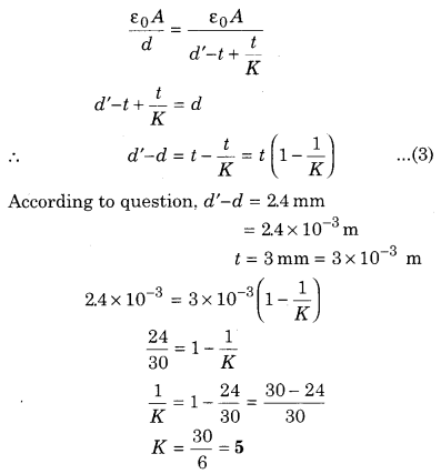 RBSE Solutions for Class 12 Physics Chapter 4 Electrical Capacitance 64