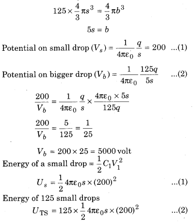 RBSE Solutions for Class 12 Physics Chapter 4 Electrical Capacitance 70