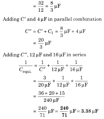 RBSE Solutions for Class 12 Physics Chapter 4 Electrical Capacitance 79