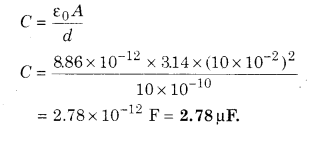 RBSE Solutions for Class 12 Physics Chapter 4 Electrical Capacitance 86