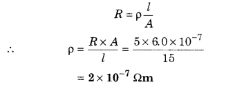 RBSE Solutions for Class 12 Physics Chapter 5 Electric Current 45
