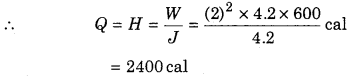 RBSE Solutions for Class 12 Physics Chapter 5 Electric Current 49