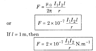 RBSE Solutions for Class 12 Physics Chapter 7 Magnetic Effects of Electric Current 18