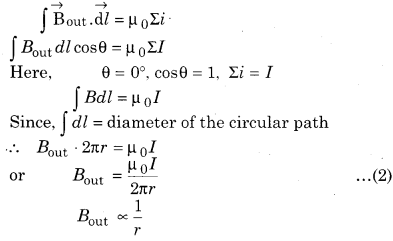 RBSE Solutions for Class 12 Physics Chapter 7 Magnetic Effects of Electric Current 20