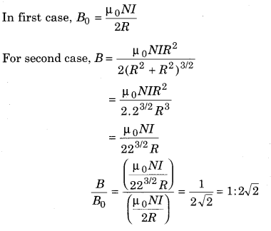 RBSE Solutions for Class 12 Physics Chapter 7 Magnetic Effects of Electric Current 3