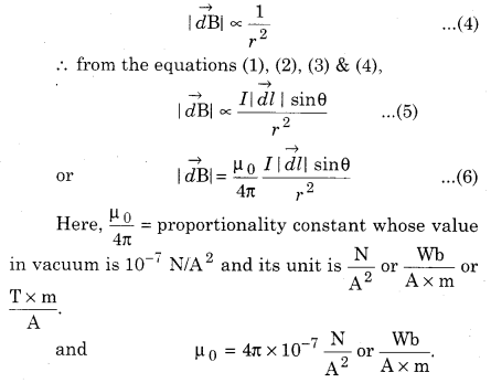 RBSE Solutions for Class 12 Physics Chapter 7 Magnetic Effects of Electric Current 30