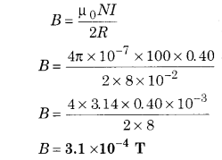 RBSE Solutions for Class 12 Physics Chapter 7 Magnetic Effects of Electric Current 51