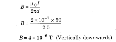 RBSE Solutions for Class 12 Physics Chapter 7 Magnetic Effects of Electric Current 56