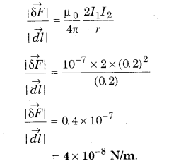 RBSE Solutions for Class 12 Physics Chapter 7 Magnetic Effects of Electric Current 61