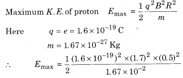 RBSE Solutions for Class 12 Physics Chapter 7 Magnetic Effects of Electric Current 63