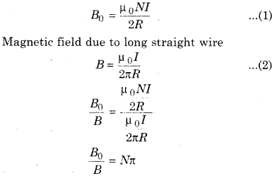 RBSE Solutions for Class 12 Physics Chapter 7 Magnetic Effects of Electric Current 9